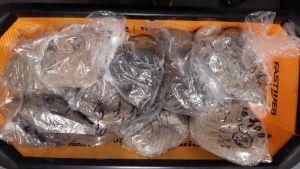 Furto di sabbia elbana beccati turisti spagnoli, ne avevano 13 chili in valigia
