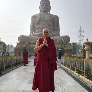 monaca buddhista Ciampa Tashi
