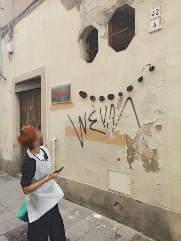 In Borgo c'è la street-art del sorriso