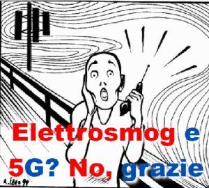 elettrosmog e 5G No grazie logo
