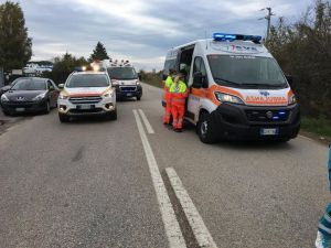 incidente frontale al Cisternino, 5 feriti