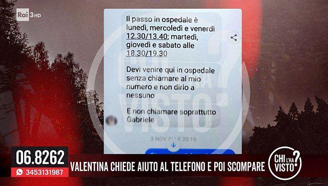 messaggio di Valentina ferrari