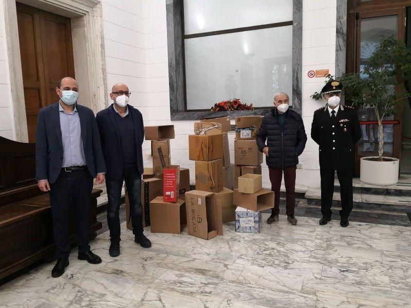 Inaugurata a Palazzo Granducale l'installazione artistica dello scultore Antonio Vinciguerra