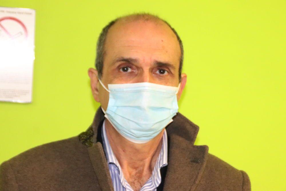 Luca Carmiglia direttore dell'ospedale di Livorno