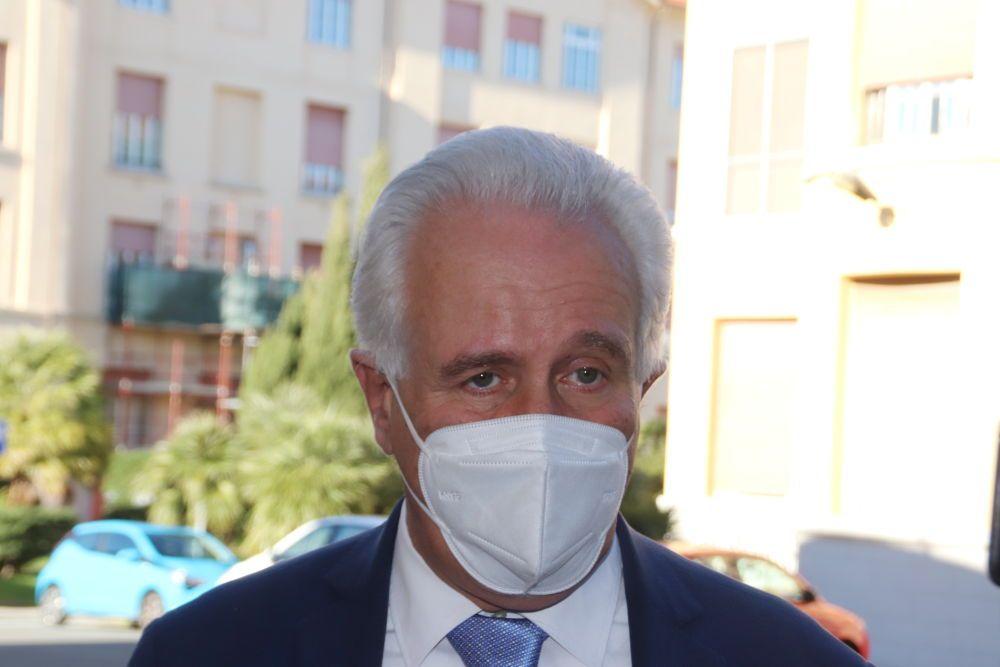 Vax Day, Il presidente della Regione Toscana Eugenio Giani