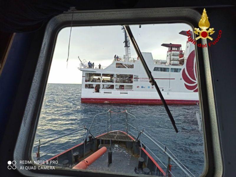 esercitazione in mare