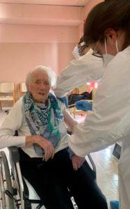 maria 106 anni vaccino covid ricorda la spagnola