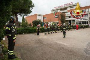 I vigili del fuoco festeggiano la Patrona Santa Barbara