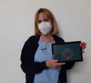 Adisco dona due tablet per i corsi di preparazione al parto