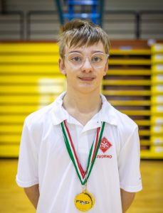 Bertini Tommaso 50 rana, record italiano assoluto per Bertini della Toscana Disabili Sport