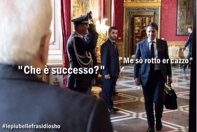 Crisi di governo secondo il web, i meme più divertenti