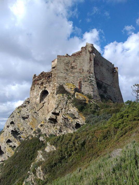 Gorgona, la Rocca. Foto archivio PNAT