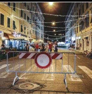 borgo street pedonalizzazione