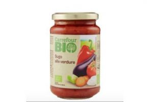sugo alle verdure biologico a marchio Carrefour Bio