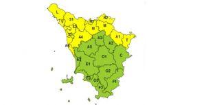 Maltempo, allerta meteo gialla per domenica 7 febbraio