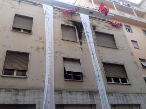 Azione dimostrativa di Asia Usb, occupato palazzo Inps