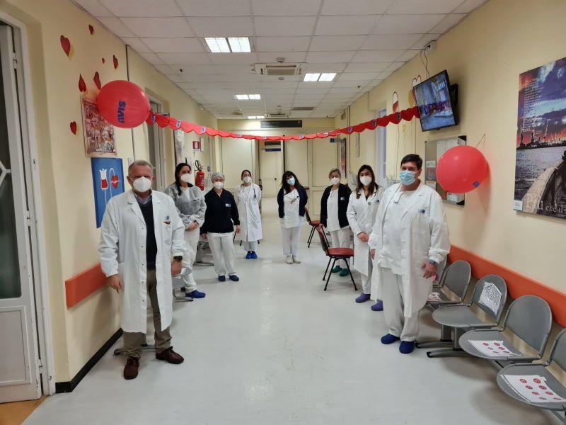 Centri Trasfusionali, quasi 200 donazioni nel weekend di San Valentino