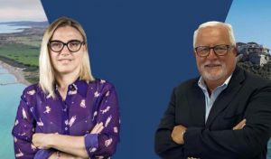Chiara Tenerini e Riccardo Petraroja,