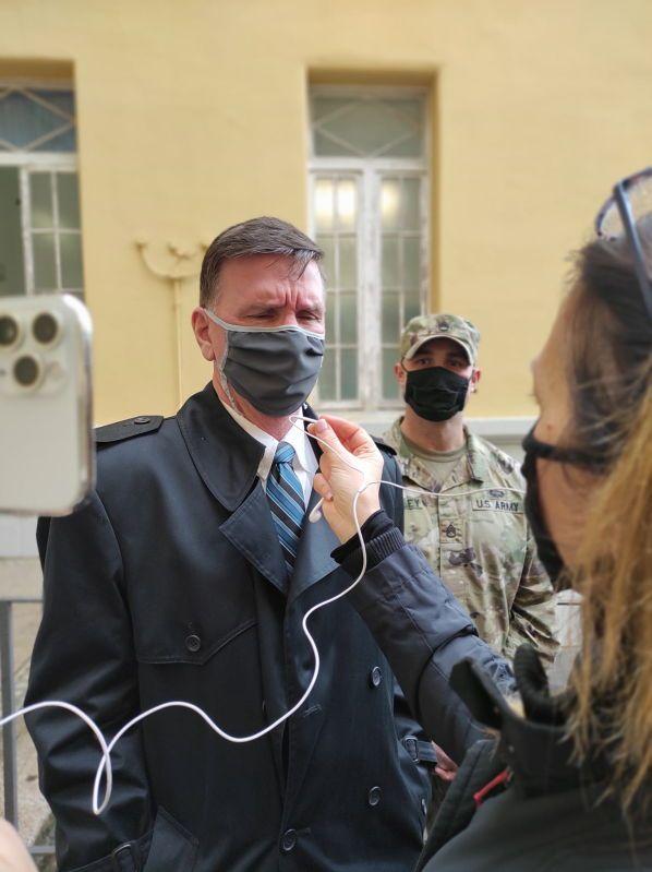 Dagli Stati Uniti una donazione di materiale di protezione da covid19 all'ospedale di Livorno