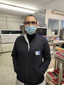 Elisabetta Stenner, direttrice dell'Area Omogenea Dipartimentale Laboratorio