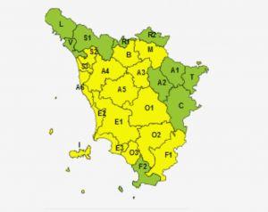 Maltempo allerta meteo gialla per vento dalle 16 di oggi