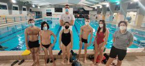 Nuoto, il campione Federico Turrini in visita ai paralimpici della TDS