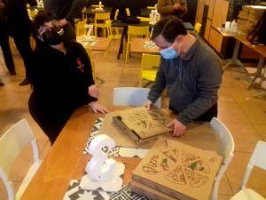 Parco del Mulino, una pizza per due sorrisi - 1000 consegne