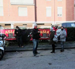 Primo sfratto a Livorno, Asia Usb Rinviato al 21 aprile