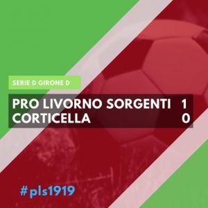 Pro Livorno Sorgenti-Corticella 1-0, la partita (Video)