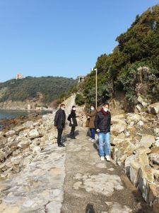 Spiagge, sopralluogo dell'assessore Ferroni in vista della stagione balneare