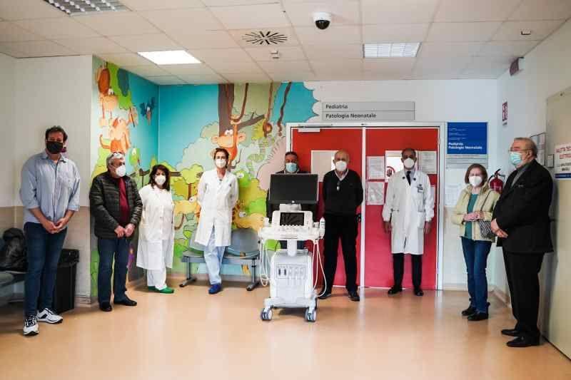 """""""Insieme per la vita"""" dona ecografo da 40mila euro a pediatria"""