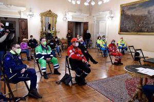 Covid, un anno di attività della Protezione Civile comunale durante