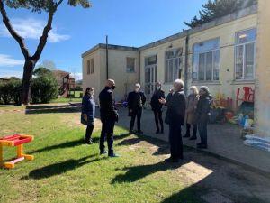 """Futuro della scuola d'infanzia """"Pian di Rota"""", Sindaco e Vicesindaco hanno incontrato i residenti della Cigna"""