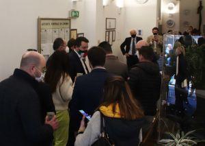 Matteo Salvini in Autorità Portuale