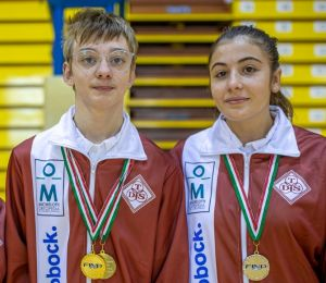Nuoto, due record italiani per Burattini e Bertini della TDS disabili sport