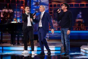 Fiaschi e Ballantini, la comicità labronica irrompe allo show Tv di Panariello