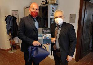 Rosignano, il nuovo Questore Masucci fa visita al sindaco Donati