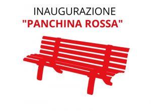 Violenza sulle donne, domani si inaugura una panchina rossa alla Terrazza Mascagni