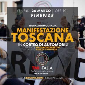 #blocchiamolitalia