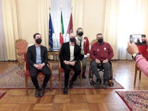 conferenza stampa sport paralimpici tsd