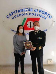 Capitaneria di Porto, in pensione la funzionaria Ballarini