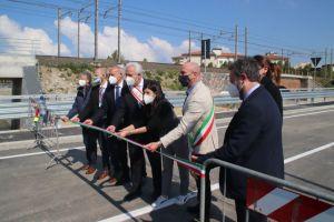 Inaugurata deviazione fosso Forcone-Rio Ardenza e ripartura via Grotta delle Fate