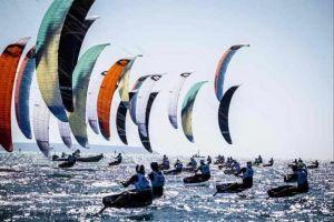 Kite Foil Open Maxime Nocher domina a Vada. Marca vince nello storico debutto del Wing Foil