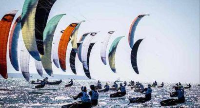 Kite Foil Open Maxime Nocher domina a Vada. Marca vince nello storico debutto del Wing Foil (5)