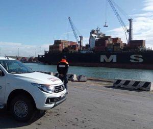 Nave panamense fermata in porto dalla Guardia Costiera per gravi irregolarità