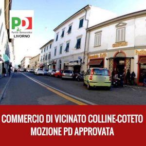 PD Approvata mozione dedicata al commercio di vicinato nei quartieri di Colline e Coteto