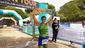 L'Iron Cross Tour Triathlon Mtb va in archivio nel segno segno di Maxin Chano e Eleonora Peroncini