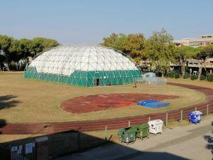 Progetto playground al via l'intervento di riqualificazione del campo di atletica a Rosignano Solvay