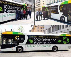 il primo bus elettrico a Livorno