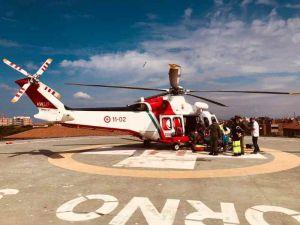 Marittimo soccorso al largo di Gorgona, interviene l'elicottero della guardia Costiera